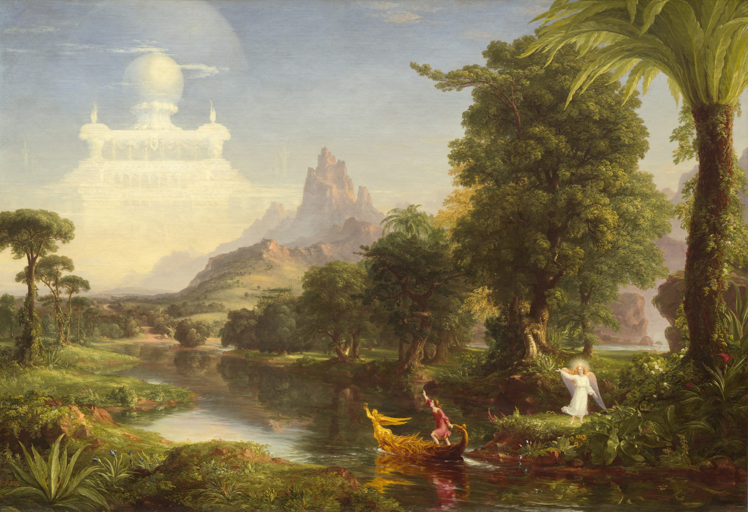 Thomas Cole, The Voyage of Life, 1842